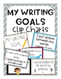 My Writing Goals (Clip Chart) - Small chart