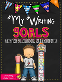 My Writing Goals {A 24 Piece Bulletin Board Set & Chart Parts}