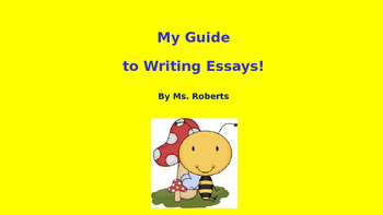 My Writing Guide to Writing Essays!