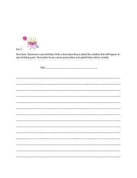 My Writing Journal
