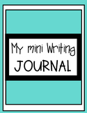 My Writing Journal: Writing Journal with prompts