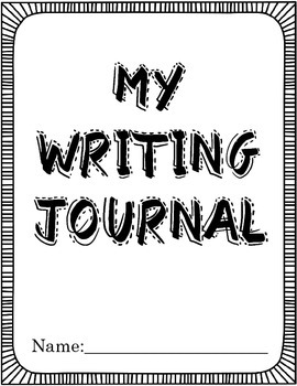 My Writing Journal (3rd-5th)