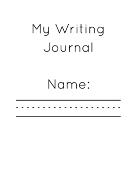 My Writing Journal - Second Level
