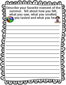 My Writing Journal (September)