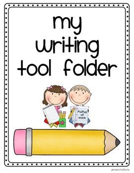 My Writer's Workshop Tool Folder