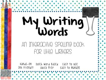 Student Dictionary- Writing Words