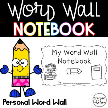My Writing Words Notebook {A Personal Writing Dictionary}
