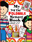 My Year End Foldable Memory Book - Grade 2-6 {25+ templates} Canadian Spelling