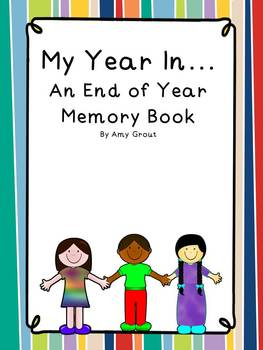 My Year In...An End of Year Memory Book