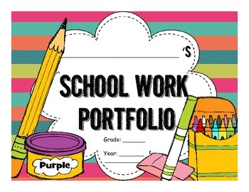 My Year at School Portfolio