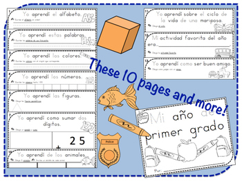 My Year in First Grade: A Review of What I Learned