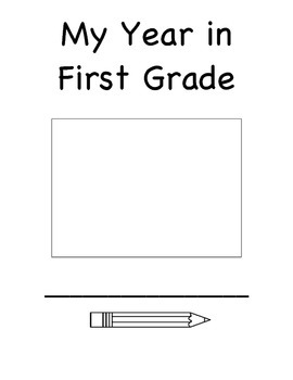 My Year in First Grade memory book