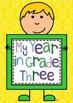 My Year in Grade 3 Year Book
