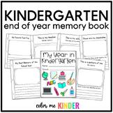 End- of- Year Kindergarten Memory Book