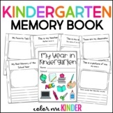End of Year Kindergarten Memory Booklet