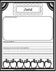 My Year in Kindergarten - A Monthly Informal Assessment
