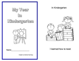 My Year in Kindergarten Emergent Reader