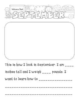 My Year in Kindergarten - Scrapbook Kit