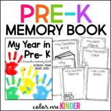 End- of- Year Pre- K Memory Booklet