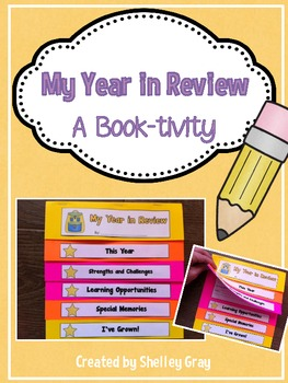 My Year in Review {An End-of-the-Year Book-tivity}