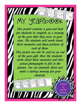 My Yearbook ( A Memory Book)