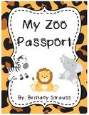 My Zoo Passport (Common Core Aligned)