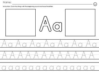 My alphabet letters