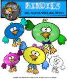 BIRDIES Digital ClipArt!!!