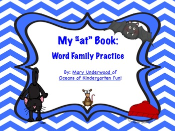 My at Book: Word Family Practice