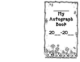 My autograph book/ signature book