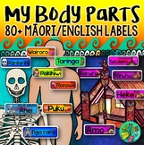 My body {Maori & English labels for internal & external body parts}
