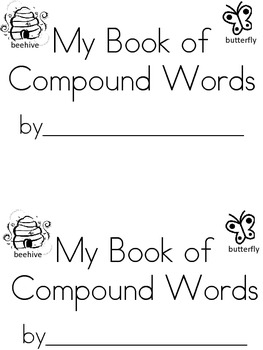 My book of Compound Words