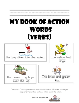 My book of action wrods!