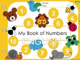My book of numbers