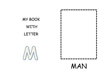 My book with letter M