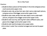 My city, state, country, and world project