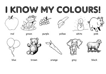 I know my colours