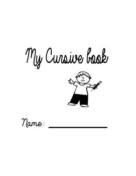 My cursive book