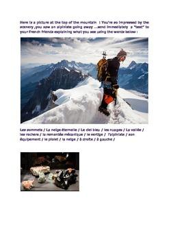 My day in Chamonix France