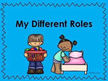 My different roles Powerpoint/slides for Grade 1 Social Studies