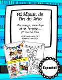 My end of the year album ��Mi álbum de fin de año»