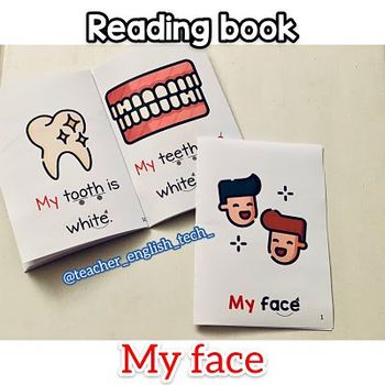 My face book - Reading 1st grade