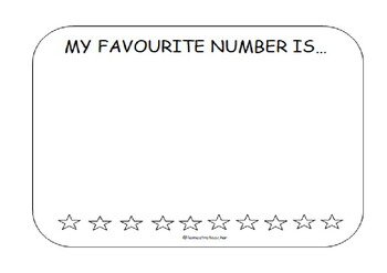 My favourite number.