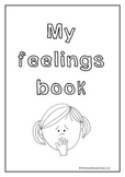 My feelings book. for prek and preschool