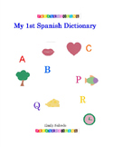 My first Spanish alphabet book- COLORING BOOK