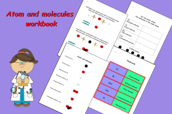 My first book about atoms and molecules