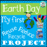 My first reuse reduce recycle project earth day easy craft pencils holder