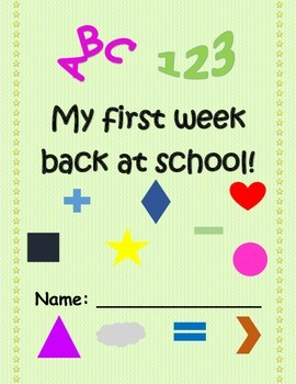 My first week back at school!