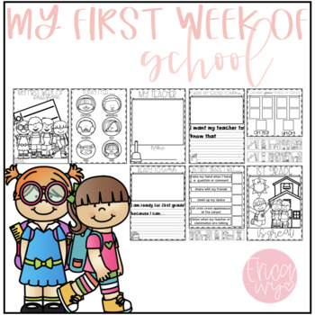 My first week of First Grade