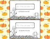 My five senses: Fall